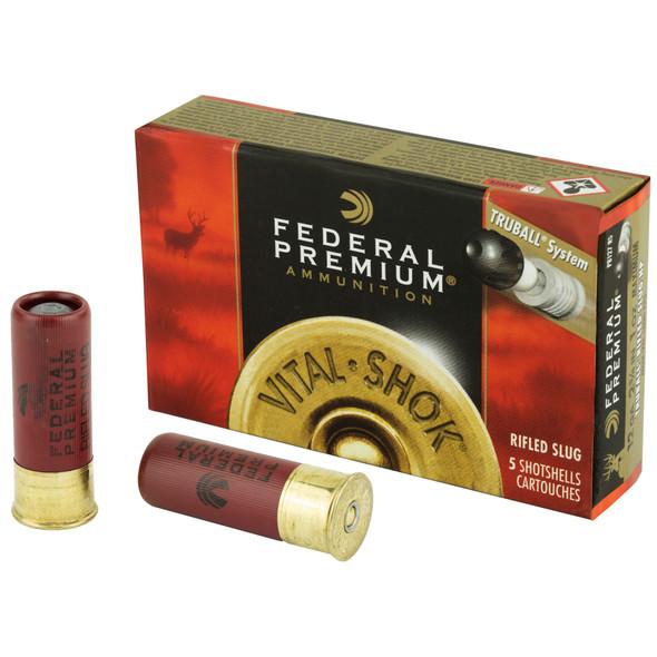 Federal 12ga Truball 1oz Slug - 5rd Box