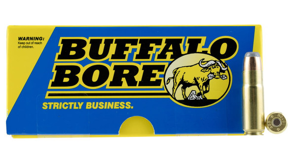 Buffalo Bore - Hunting & Sniping 458 SOCOM 400 Gr Semi Jacketed - 20 Rds