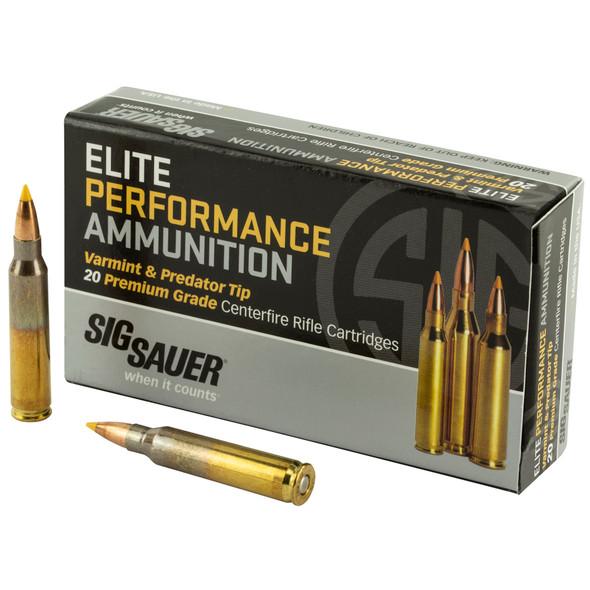 Sig Sauer - Varmint And Predator Tip 223 Rem 40Gr - 20 Rds