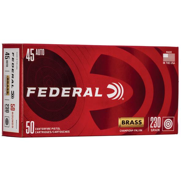 Federal Champion - 45 ACP 230Gr FMJ - 50 Round Box