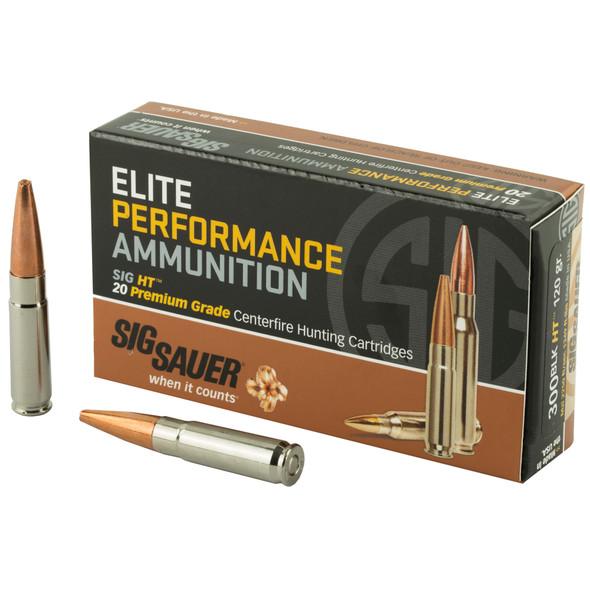 Sig Sauer Elite Perf. - Hunting 300 Blk 120 Gr Copper HT - 20 Rds