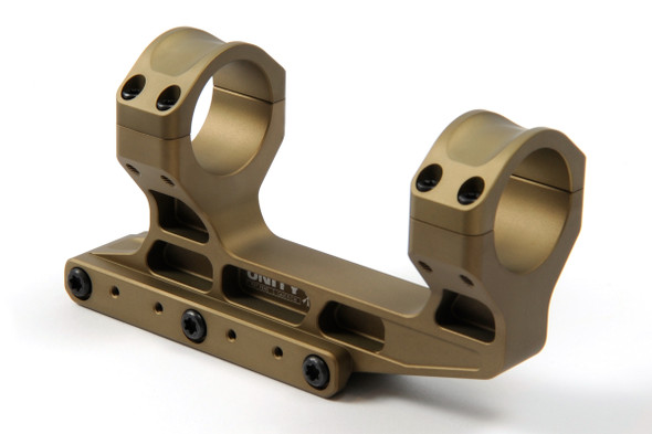 Unity Tactical FAST LPVO Mount 30mm FDE