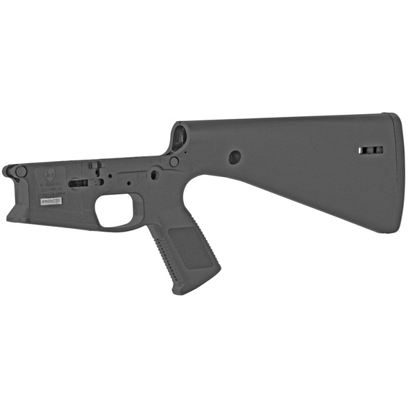 KE Arms KP-15 Stripped Polymer Lower Receiver with fixed stock.