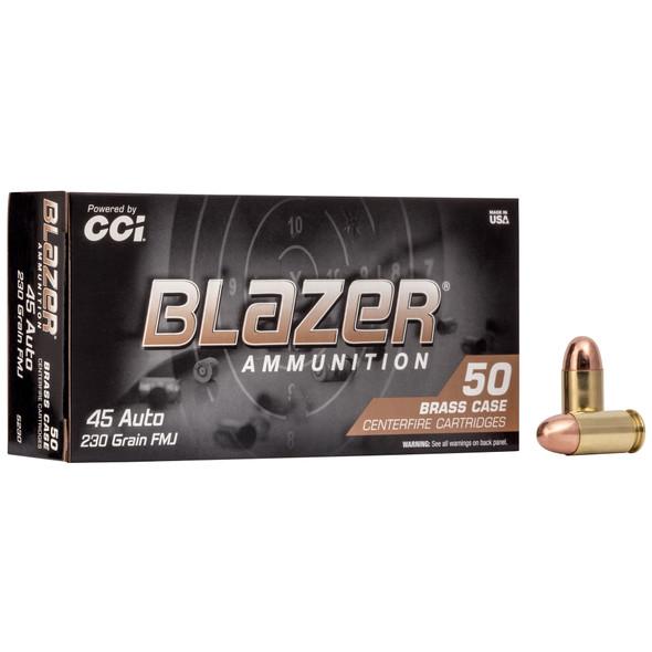 Blazer Brass - 45 ACP 230 Grain FMJ - 50 Rounds