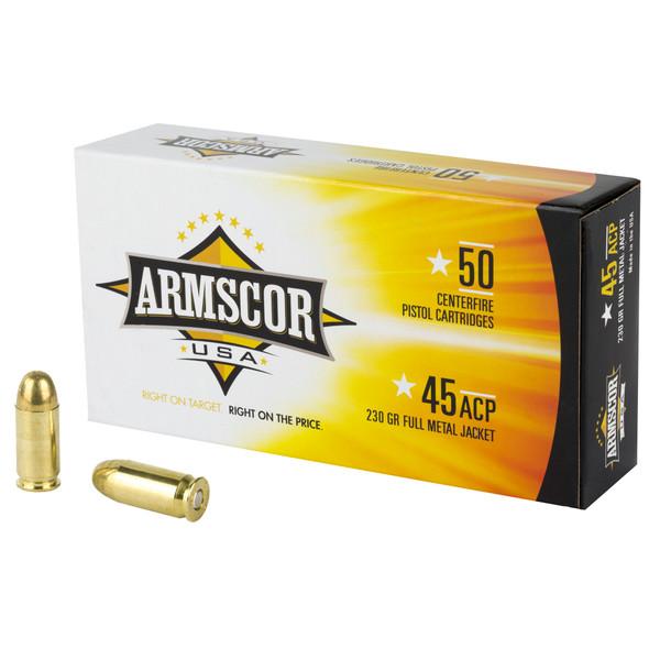 Armscor -45 ACP 230 Grain Full Metal Jacket - 50 Rds