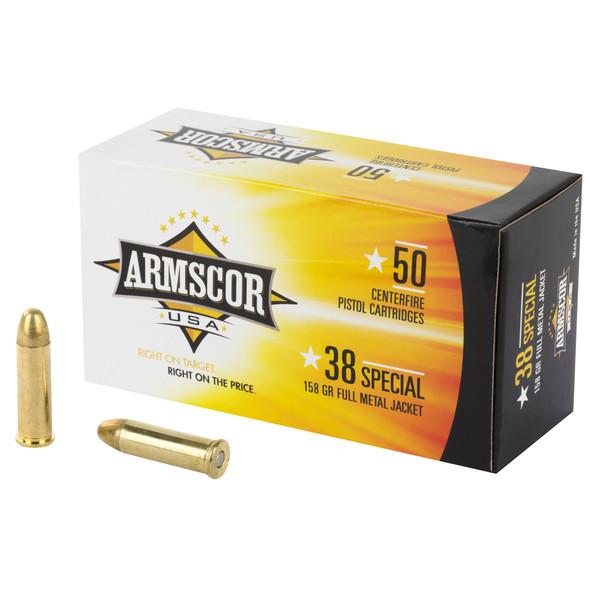 Armscor - 38 Special 158 Gr FMJ - 50 Rds