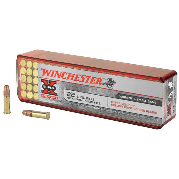 Winchester 22lr 40gr HP - 100rd