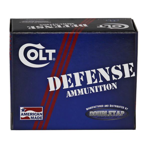 DoubleTap Ammunition/Colt Defense 9mm 124gr JHP - 20rd Box
