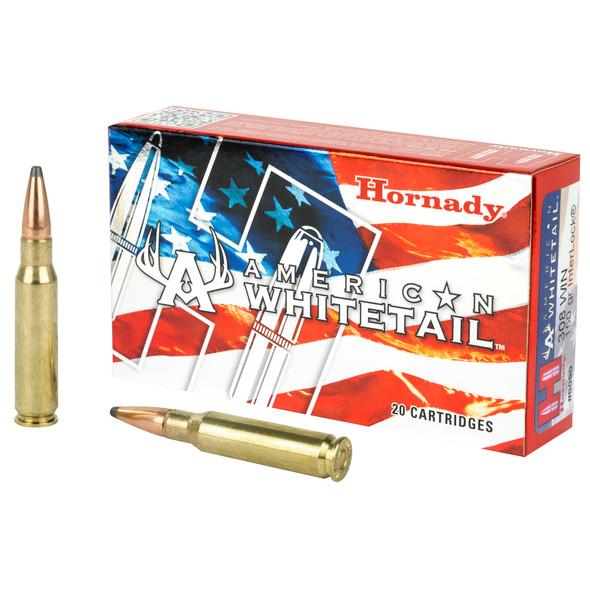 Hornady American Whitetail - 308WIN 150 Grain SP InterLock - 20 Rds