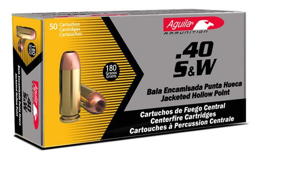 Aguila 40SW 180gr Full Metal Jacket - 500rds