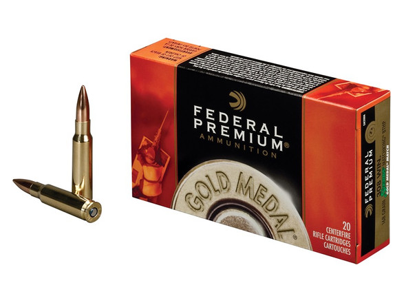 Federal Premium Gold Metal Match 308 Win. 168gr BTHP