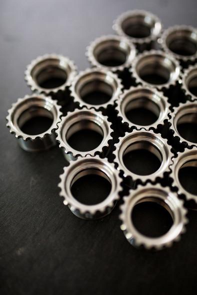 V Seven Titanium AR15 GI Barrel Nut