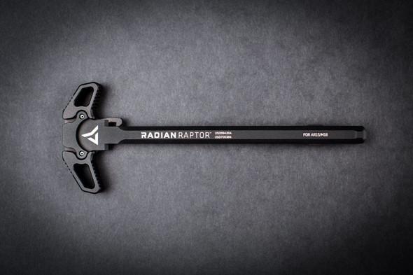 Radian Raptor Ambidextrous Charging Handle - Black