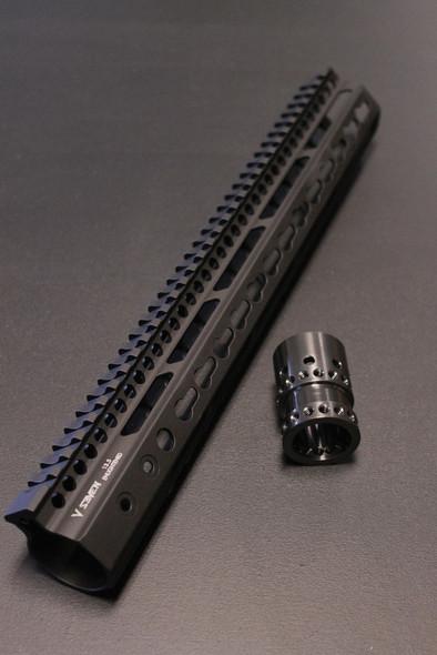 "V Seven Weapons Enlightened Keymod Handguard 13.5"""
