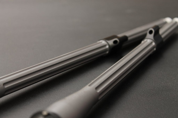 "V Seven Lightweight Stainless Match Barrel 5.56mm 16"" Fluted"