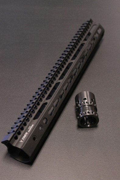 "V Seven Weapons Enlightened Keymod Handguard 11"""