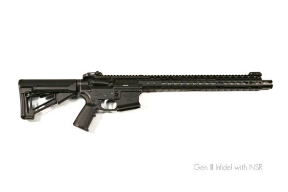 "Noveske Infidel Gen III Rifle 13.7"" Pinned - Black"