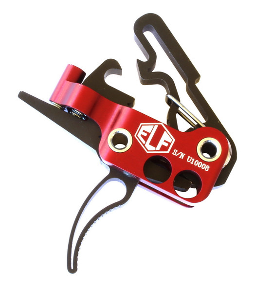 ELF 3-Gun Trigger 2.75lbs-4lbs Curved Bow