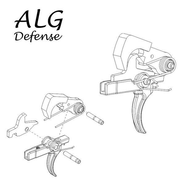 ALG Defense QMS (Quality Mil-Spec) Trigger