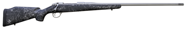 "Fierce Edge 7mm 26"" Titanium Finish Black with Gray Stock w/Titanium Muzzle Brake"
