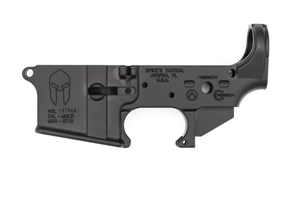 Spikes Tactical AR15 Lower Receiver - Spartan