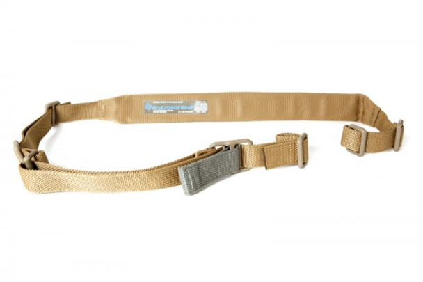 Blue Force Gear Vickers Padded Sling w/ QD Swivels  Coyote Brown