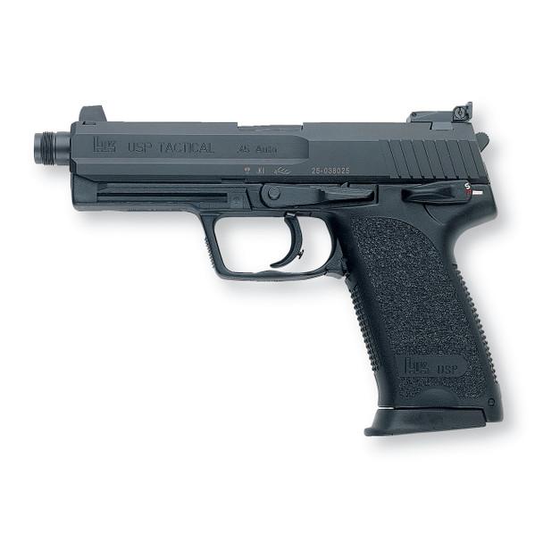 """HK USP45-T 45ACP 5.09"""" BL V1 DA/SA - 10R 2 MAGS (704501T-A5)"""
