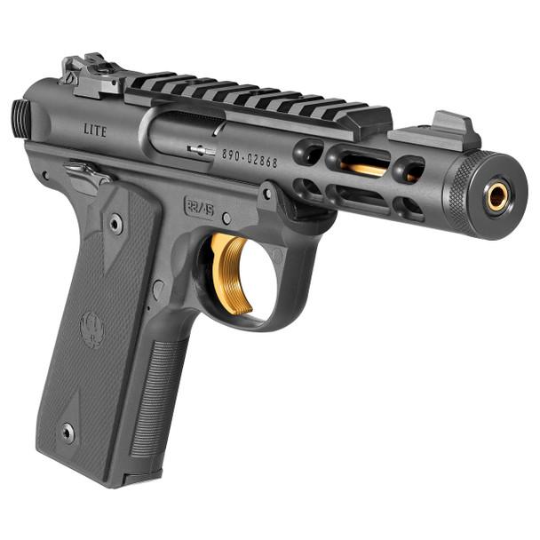 Ruger Mark IV™ 22/45™ Lite - Black/Gold Accent