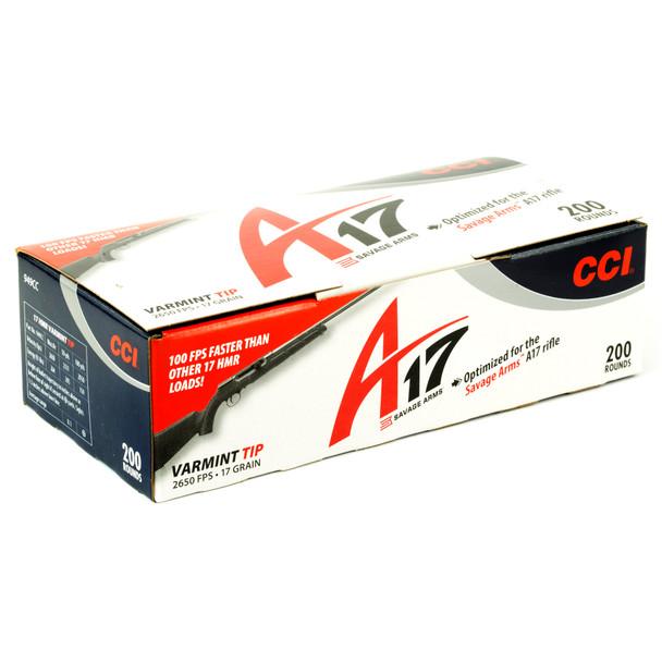 CCI A17 Varmint Tip 17gr 200rd