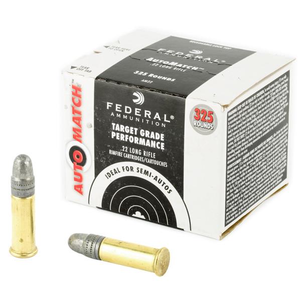Federal Ammunition Auto Match 40 Grain .22LR Ammo 325rd