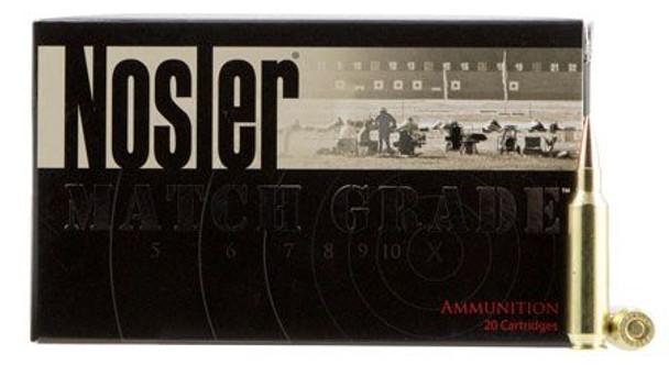 Nosler Match Grade 22Nosler 85gr RDF