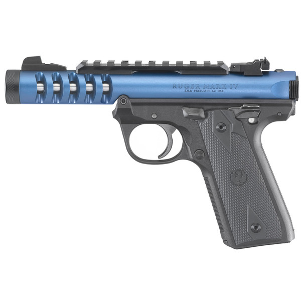 Ruger IV 22/45 Lite -Blue anodized finish