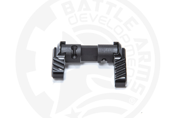 Battle Arms Development Lightweight Ambidextrous Safety Selector BLK