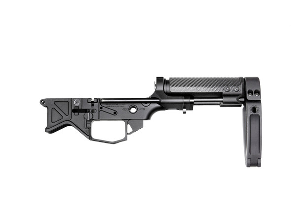 Battle Arms Development Monolithic PDW Lower Receiver + VERT Pistol Brace with Tailhook MOD1