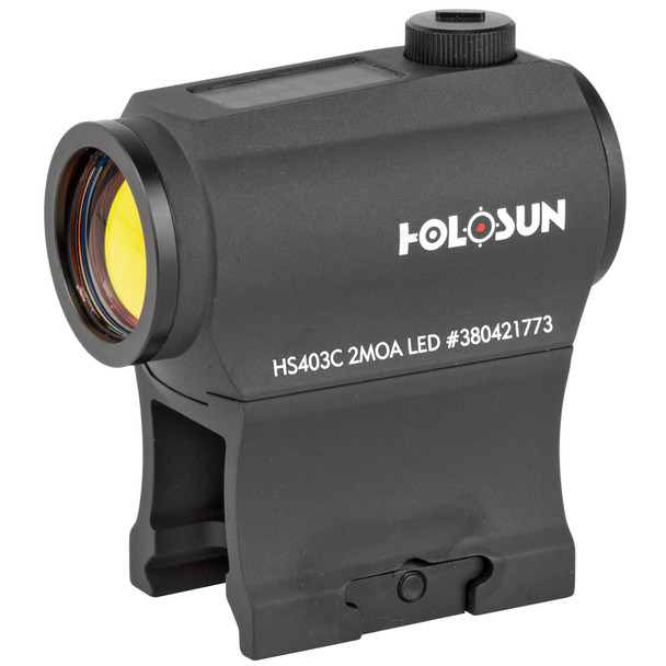 Holosun Solar Red Dot 2MOA w/Mount