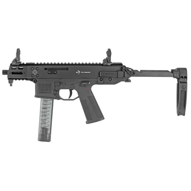 "B&T GHM9 Gen 2 Compact 4"" 9mm w/ Sliding Brace"