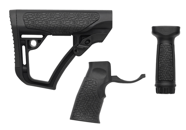Daniel Defense Stock/Grip/Vertical Grip Combo - Black