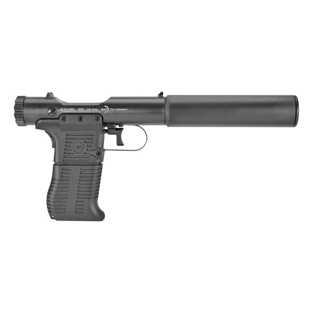 B&T Station Six Pistol with Suppressor - 9mm