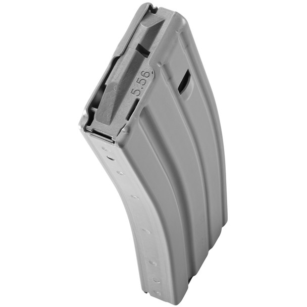 Duramag 223/556 30rd Aluminum - Gray with Gray Follower