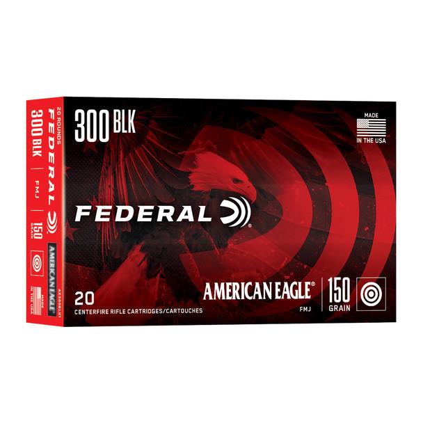 Federal American Eagle 300 Blackout 150gr FMJ - 20rd Box