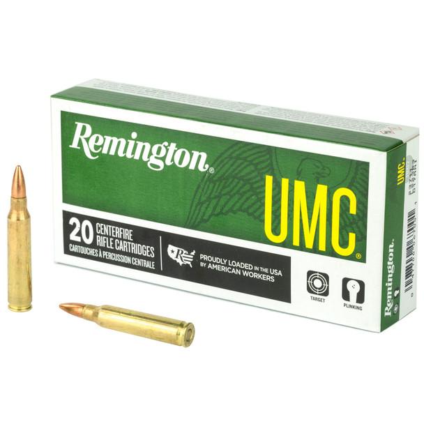 Remington UMC 223rem 55gr FMJ - 20rd box