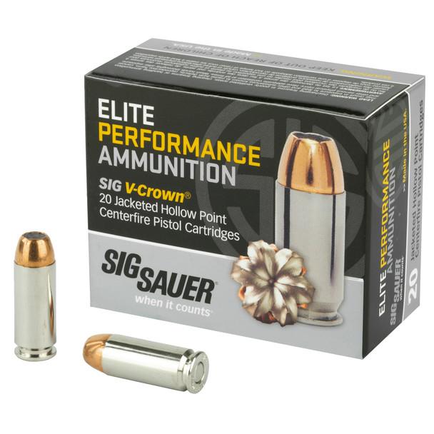 Sig Sauer 10mm 180gr JHP - 20rd Box