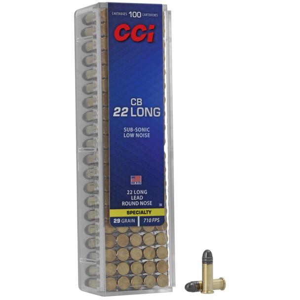 CCI CB 22 Long 29gr Target - 100rd Box
