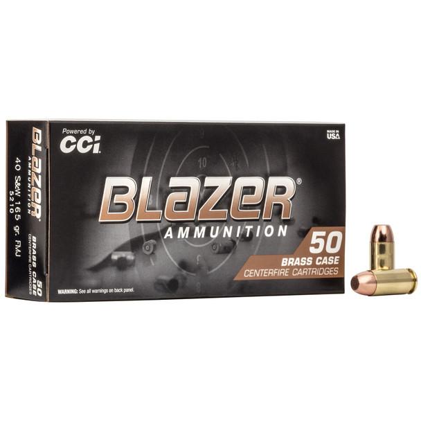 Blazer Brass - 40 S&W 165 Grain FMJ - 50 Rds