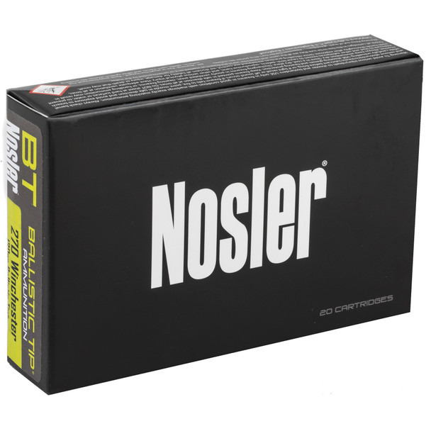 NOSLER Ballistic Tip Hunting - 270 Win 130 Gr - 20 Rds
