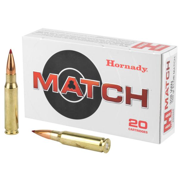 Hornady Match - 308 Win 168 Grain ELD Match - 20 Rds