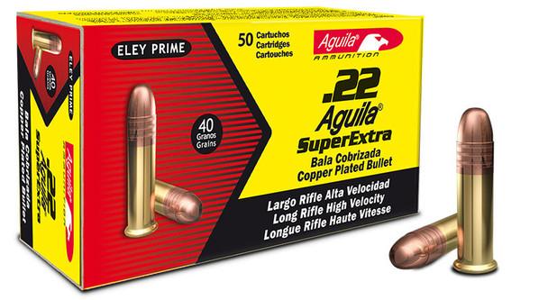 Aguila Super Extra High Velocity 22LR 40gr