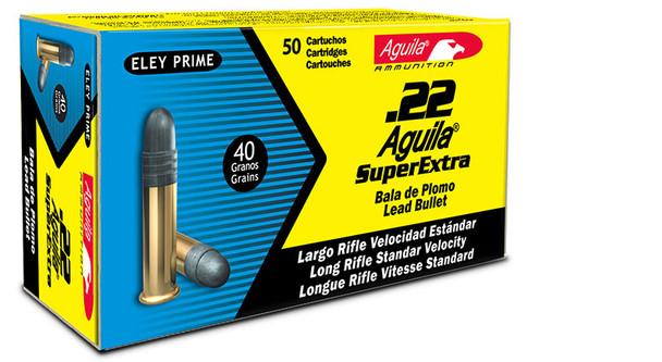 Aguila Standard Velocity Lead 22LR 40gr 500rds
