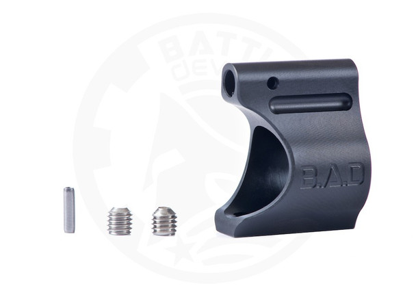 "Battle Arms Development Lightweight Low Profile Titanium Gas Block .750"" Black Ionbond PVD"