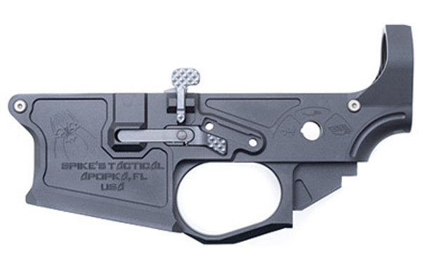 Spikes Tactical AR15 Billet Lower Gen 2 with Parts